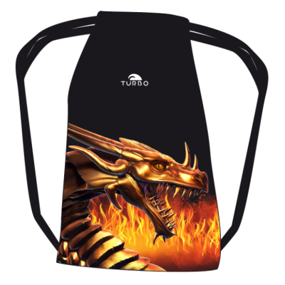 TURBO Dragon Fire -  9810534 - Mesh Bag / Sports Bag
