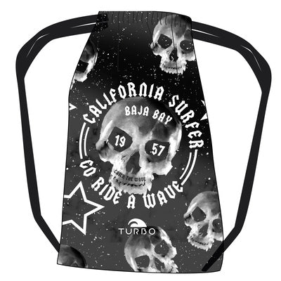 TURBO Surfer Skull California - 9810514-09 - Mesh Bag / Sports Bag