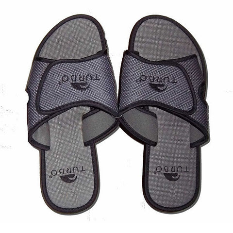 Waterpoloshop - TURBO Sandal - Flip Flops - GREY/BLACK