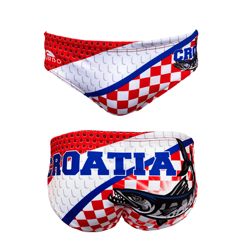 TURBO Croatia Barracuda - 731092 - Mens Suit - Water Polo