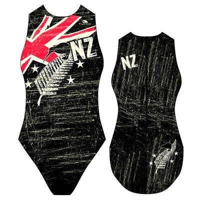 TURBO New Zealand Vintage 2013 - 89859 - Womens Water Polo Suits / Costume