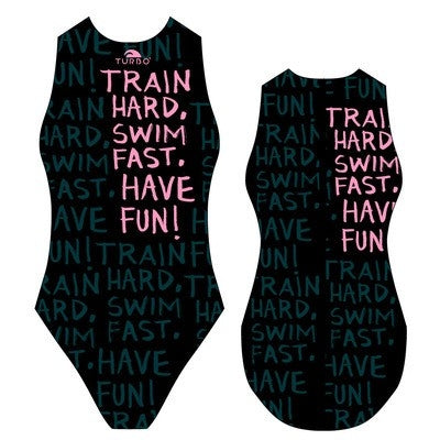 TURBO Train Hard - 89556 - Womens Water Polo Suits / Costume