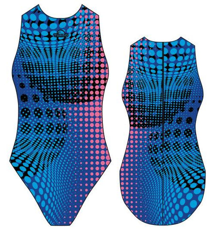 TURBO Walnut - 830084-0007 - Womens Water Polo Suits / Costume