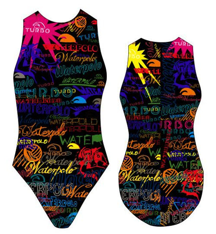 TURBO Writing - 89220-0099 - Womens Water Polo Suits / Costume
