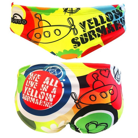 TURBO Yellow Submarine - 730557-0001 - Mens Suit - Water Polo