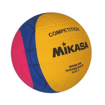 MIKASA - Youth Water Polo Ball - INTERMEDIATE - W6608.5W - Size 3
