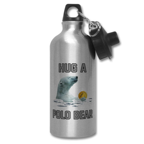 SHOALO Hug a Polo Bear - PERSONALISED Water Bottle