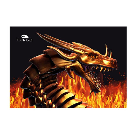 TURBO - Dragon Fire - 9890534 - Beach Towel