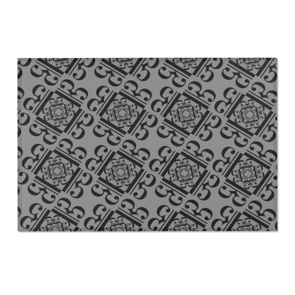 Alto Clef Design Area Rug