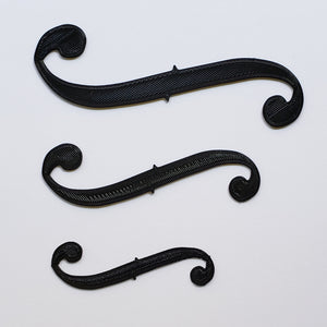 Mask Extender / Ear Saver for string players - F Hole shaped