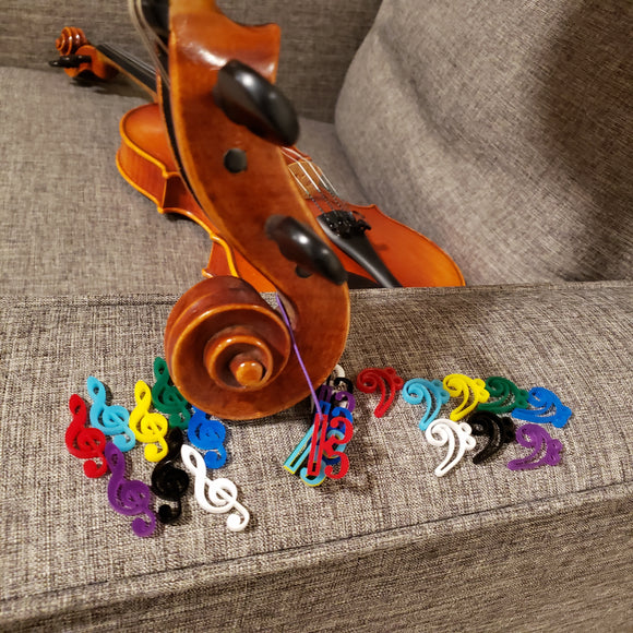 Clef Trinkets - Prizes for Strings Students