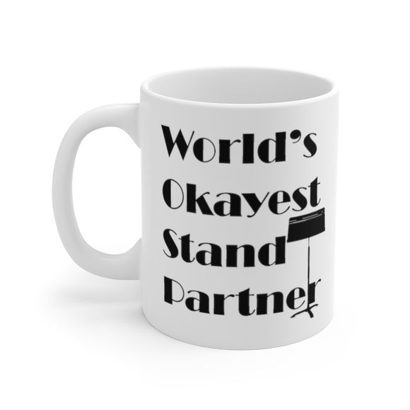 World's Okayest Stand Partner Coffee Mug