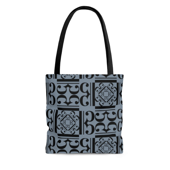 Gray Alto Clef Tote Bag