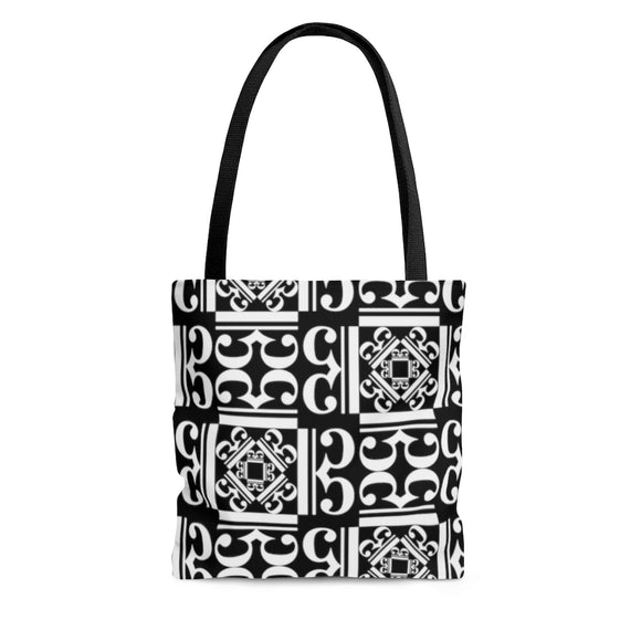 Black / White Alto Clef Tote Bag