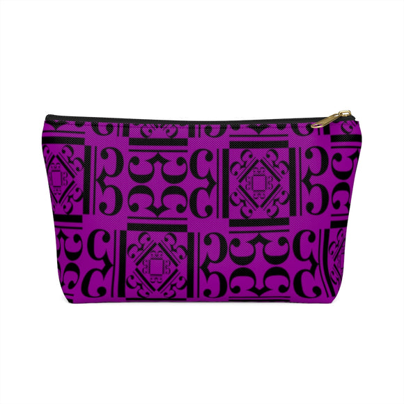 Purple Viola Alto Clef Accessory Bag