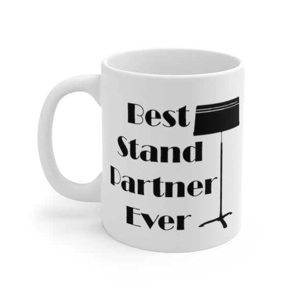 Best stand partner ever coffee mug