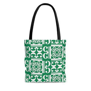 Dark Green Alto Clef Tote Bag