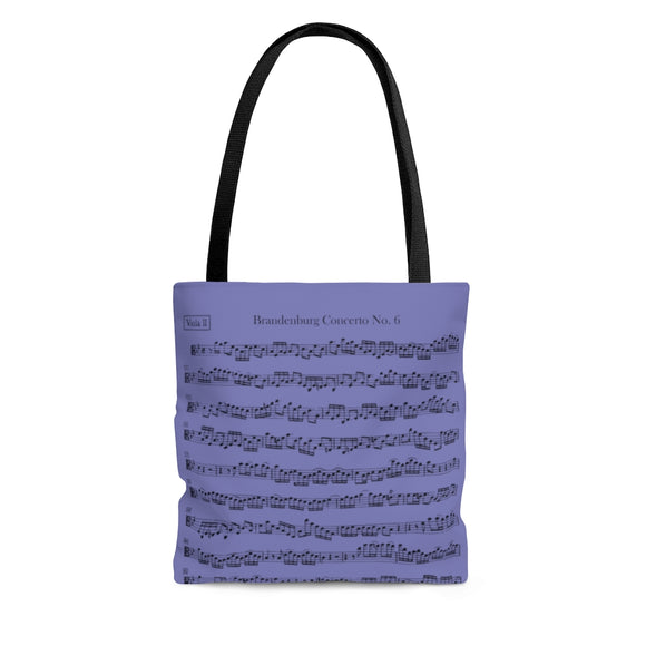 Brandenburg Concerto No. 6 Viola Tote Bag