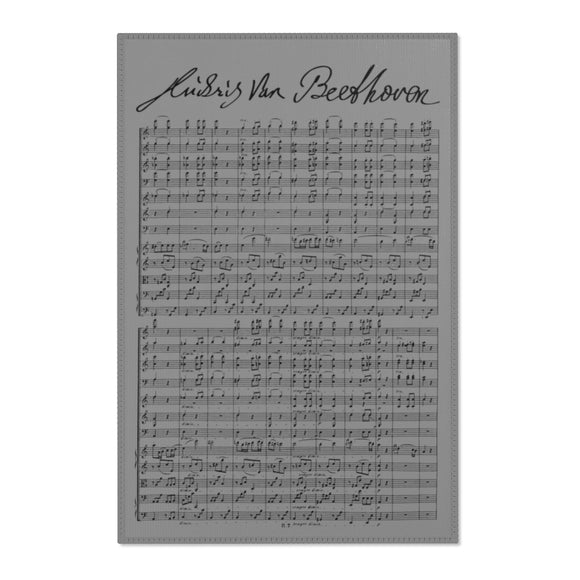 Beethoven's 7th Symphony Area Rug