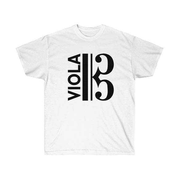Viola / Alto Clef Cotton T-Shirt