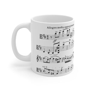 Frank Bridge Allegro Appassionato Sheet Music Coffee Mug