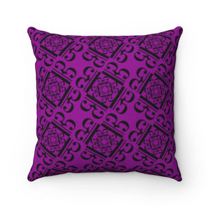 Alto clef design pillow