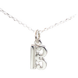 Alto clef charm or necklace