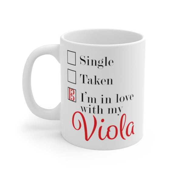 Relationship Status Coffee Mug for Violists