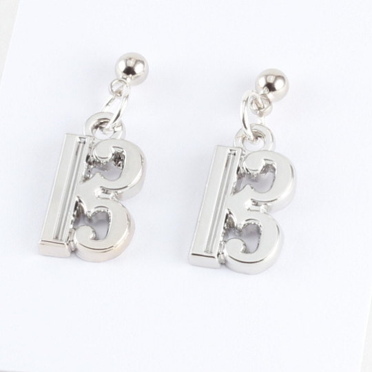 Alto Clef Charm Earrings