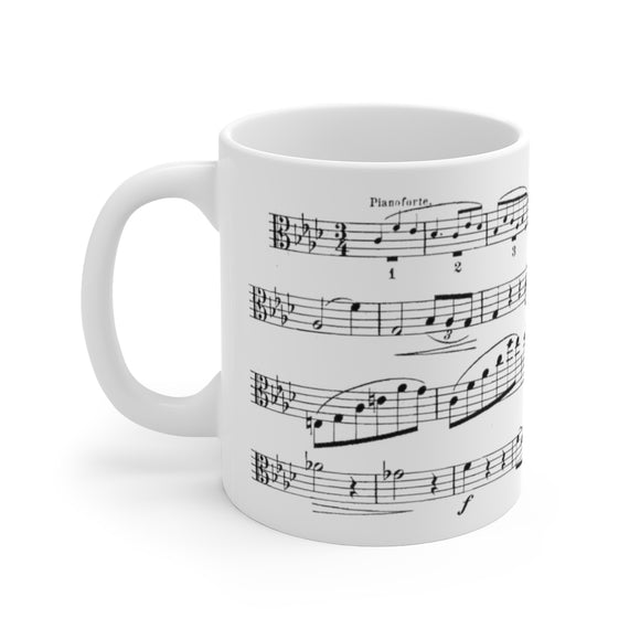 Brahms F minor Viola Sonata Coffee Mug
