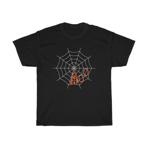 BOO Spider Web Alto Clef Halloween Shirt