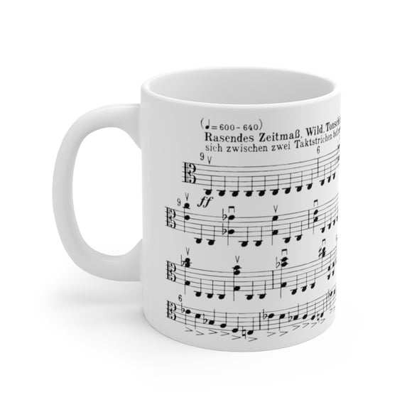 Hindemith Viola Sonata Op. 25 no. 1 (4th mvt) Coffee Mug