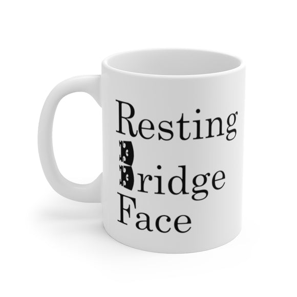 Resting Bridge Face Coffee Mug
