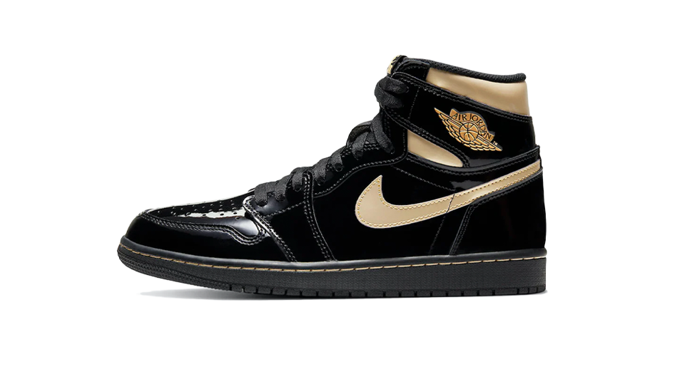 Air Jordan 1 Retro High Black Metallic Gold Matching Outfit and Accessories Category