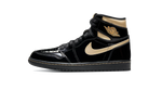 Air Jordan 1 Black Metallic Gold Matching Outfit and Accessories Category