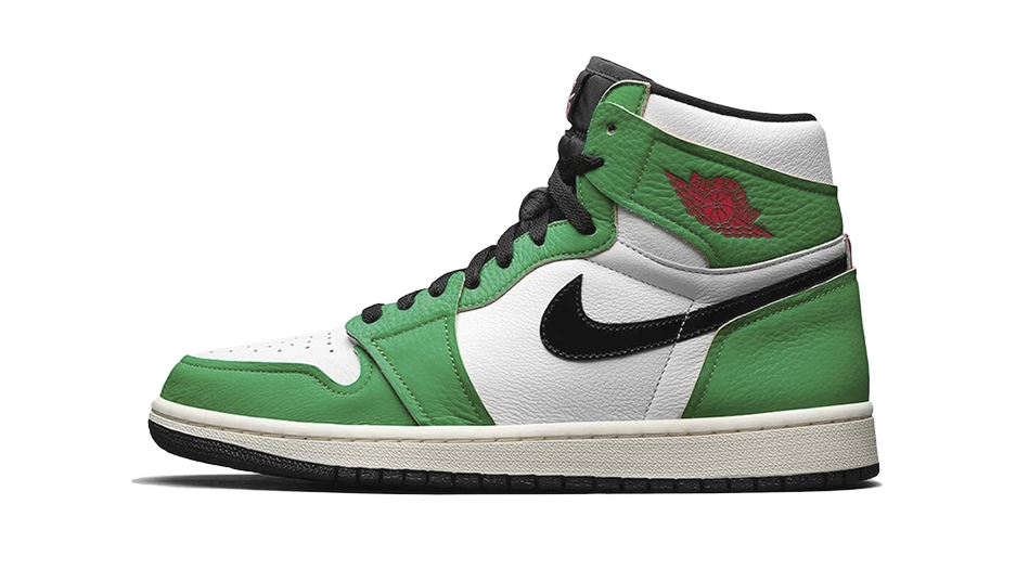 Air Jordan 1 Women's Lucky Green Matching Outfit and Accessories Category