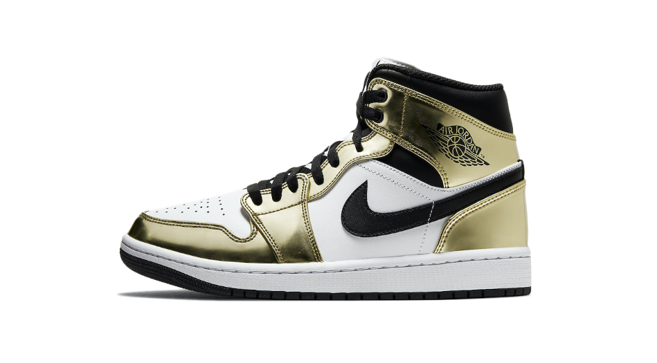 Air Jordan 1 Metallic Gold Matching Outfit and Accessories Category