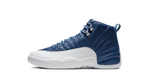 Air Jordan 12 Stone Blue Sneaker Matching Outfit and Tee Collection Indigo Side Image