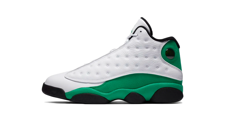 diapositiva visitar Todos  Air Jordan 13 Lucky Green Sneaker Matching Tee and Outfit Accessories –  Sneaker Release Tees