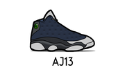 Air Jordan 13 Sneaker Matching Outfit and AJ13 Sneaker Match Accessories Category