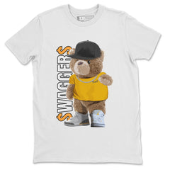Air Jordan 3 Laser Orange Bear Sweagger Sneaker Matching T Shirt Image
