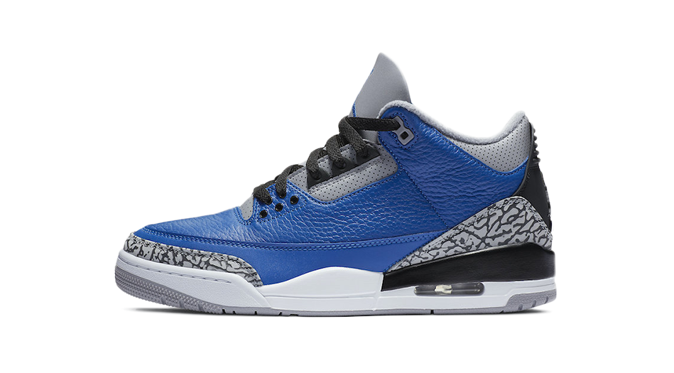 Air Jordan 3 Varsity Royal Matching Outfit and Accessories Category