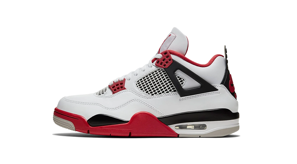 Air Jordan 4 Retro Fire Red Matching Outfit and Accessories Category