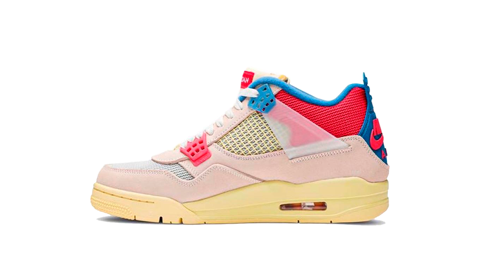 Air Jordan 4 Union Guava Ice Sneaker Match Tee Category Collection Icon