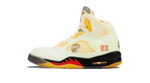 Air Jordan 5 x off white sail Matching Outfit and Accessories Category