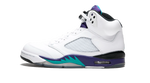 Air Jordan 5 Grape Sneaker Tees Category Shoe Side Image
