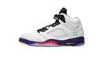 Air Jordan 5 Alternative Bel-Air Ghost Green Sneaker matching out fit Category Shoe Side Image