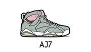 Air Jordan 7 Sneaker Matching Outfit and AJ7 Sneaker Match Accessories Category
