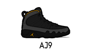 Air Jordan 9 Sneaker Matching Outfit and AJ9 Sneaker Match Accessories Category