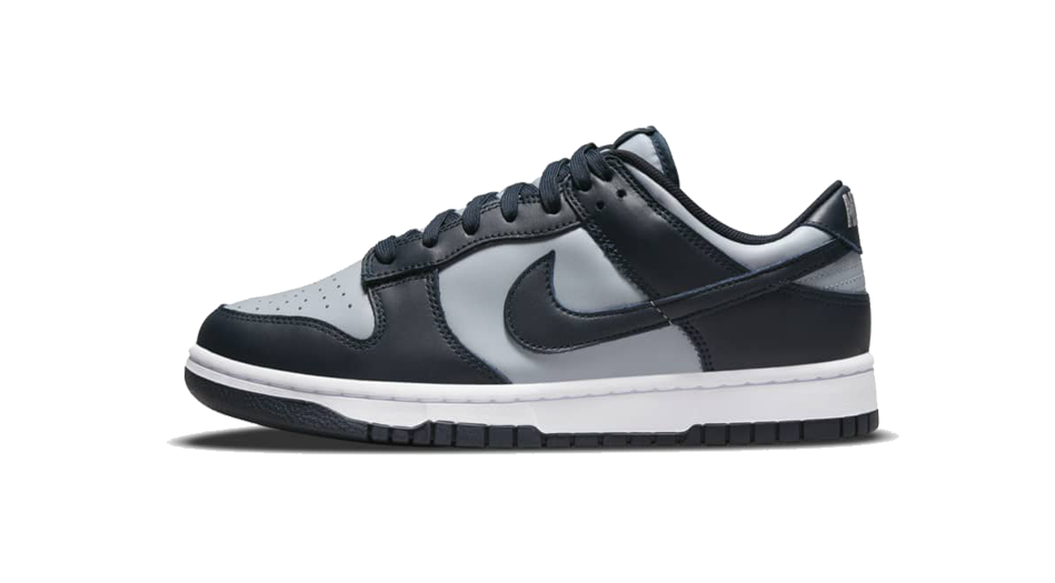 Nike Dunk Low Championship Grey Sneaker Match Tee And Dunk Georgetown Accessories Category